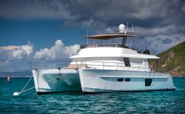 Fountaine Pajot Motor Yachts Queensland 55 : Anchorage at Saint Barth